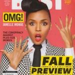 Janelle Monae Covers Bust Magazine.