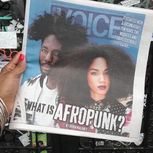 AfroPunkFest, Village Voice, Janet Mock
