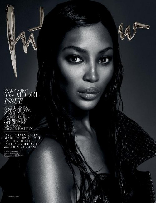 Naomi Campbell Interiew Magazine Cover Mert and Marcus