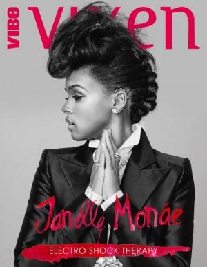Janelle Monae Covers Vibe Vixen.