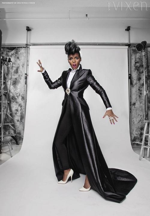 Janelle Monae Covers Vibe Vixen Superselected Black