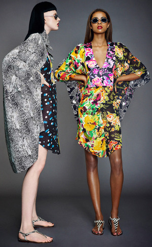 London Fashion Week.  Doru Olowu Spring 2014 RTW.