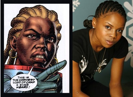 Shareeka Epps, Martha Washington, Black Female Superheroes