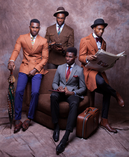Lookbooks. The Sharp Dressed Men of McMeka Menswear.