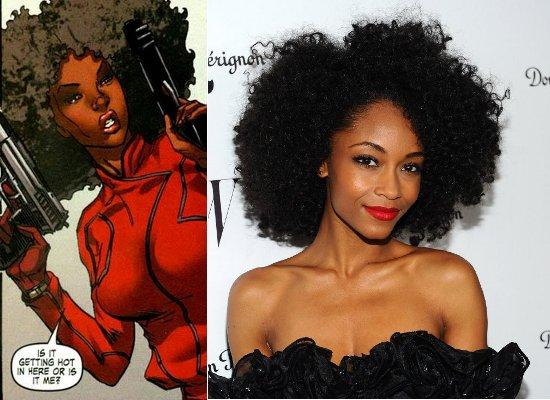 Yaya Alafia, Misty Knight, Black Female Superheroes