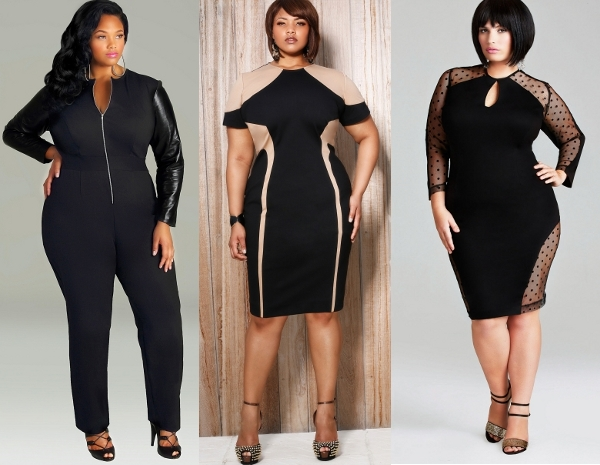 Black Clothing Designers Plus Size Monif C Black Plus Size