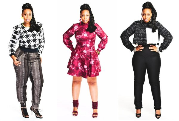 Black Clothing Designers Black Plus Size Fashion