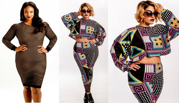 Plus Size Women's Clothing Designer Black Clothing Designers Plus