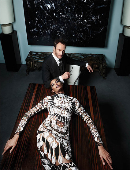 Joan Smalls Tom Ford Wall Street Journal WSJ Magazine