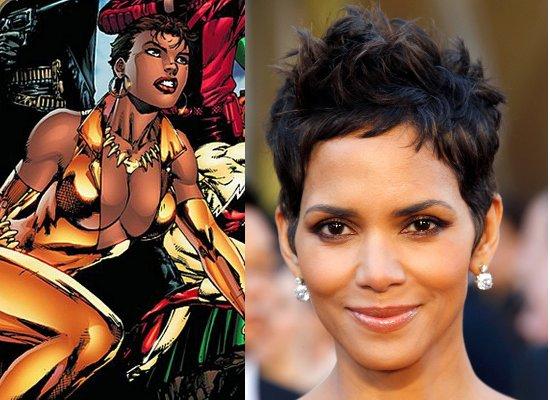 Vixen, Halle Berry, Black Female Superheroes