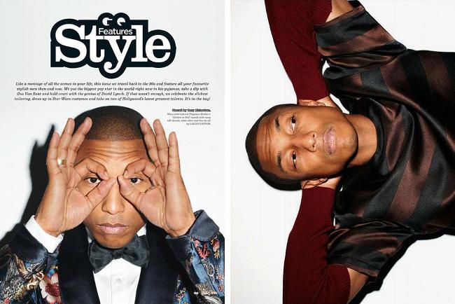 Pharrell Williams, GQ UK Style, Terry Richardson