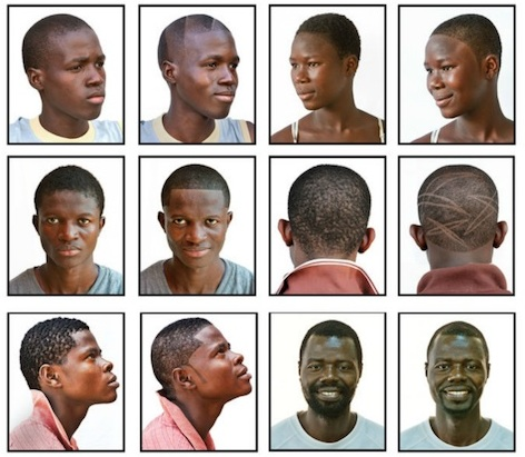 Barbershops in West Africa, Andrew Esiebo