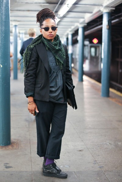 street style subway stalking superselected black