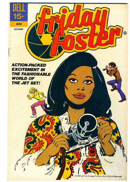 Friday Foster, Black Female Comic Book Heroines, Black Female Superheroes