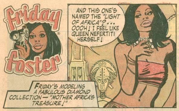 Friday Foster Comics, Black Female Comic Books