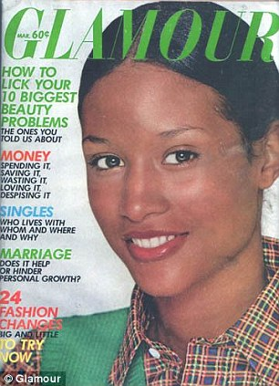 Beverly Johnson, throwback, Black Fashion Models, Glamour Magazine
