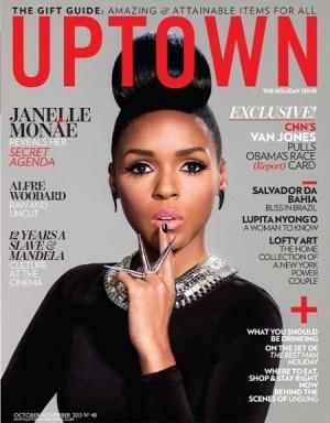 Editorials.  Janelle Monáe. Uptown Magazine.