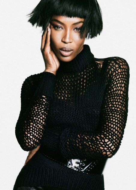 Naomi Campbell, The Edit, Nico, Black Fashion Models
