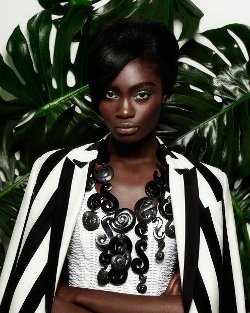 Stacey Mckenzie, Kayla Clarke, Zanana, Open Lab Magazine Saty + Pratha, Black Fashion Models