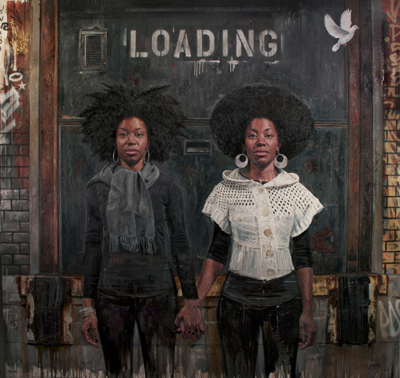Tim Okamura, Contemporary Artists, Black Women Paintings