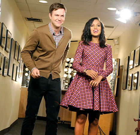 Kerry Washington, Taran Killam, Saturday Night Live, SNL