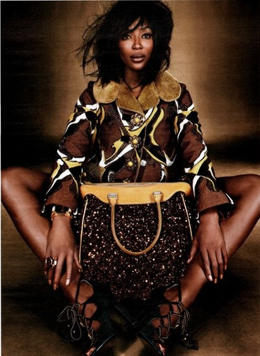 Naomi Campbell, Black fashion Models, Emma Summerton, Handbags, Accessories