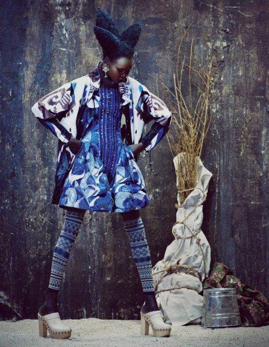 Alek Wek, Financial Times, Black Fashion Models, Andrew Yee