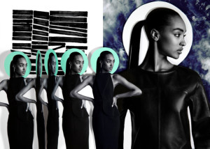 Editorials.  Jourdan Dunn.  i-D Magazine November 2013. Quentin Jones.