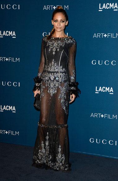 Nicole Richie Lacma 2013 Art Gala