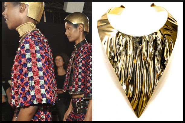Metal Fashion, Black fashion Designers, Alexander McQueen