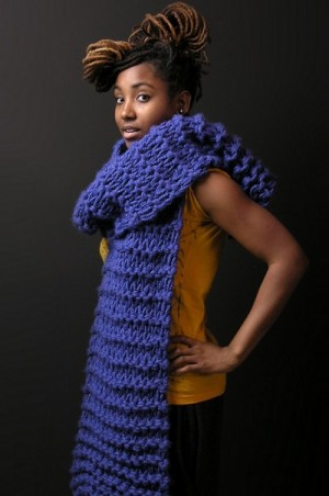Buy This.  The 'Eff Winter' Scarf by Junkprints.