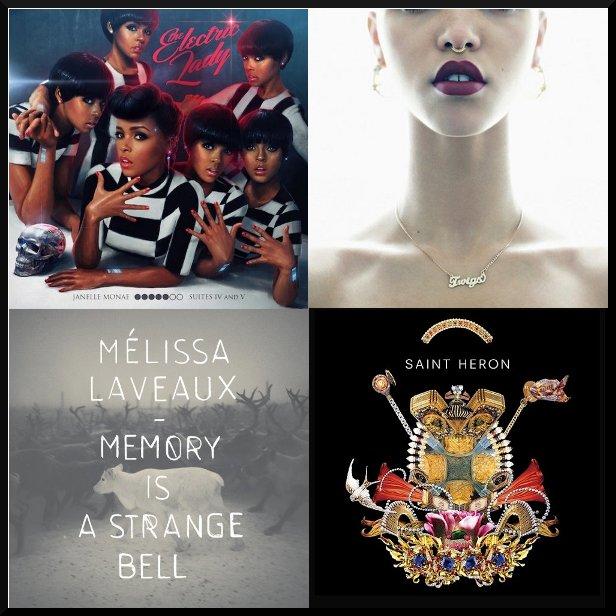 Top Albums of 2013, Janelle Monae, FKA Twigs, Solange, Melissa Laveaux