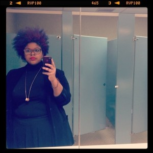 Tumblr Love.  POC Fat Fashion.