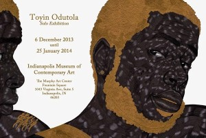 Art Exhibitions.  Toyin Odutola.  The Indianapolis Museum of Contemporary Art.