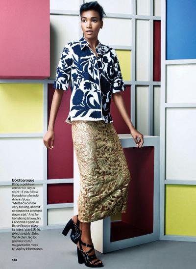Arlenis Sosa, Glamour Magazine, Chad Pitman, Black Fashion Models, Dominican Models