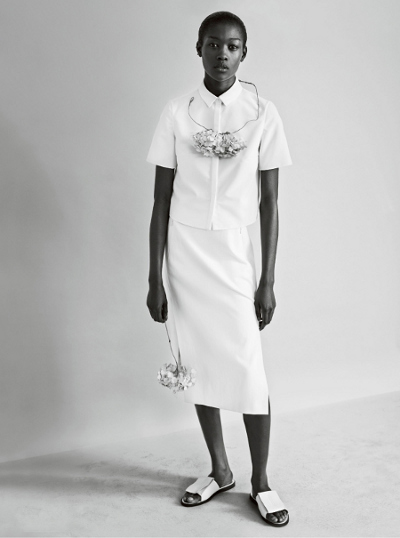 Editorials.  Quick Takes.  Betty Adewole.  Vogue UK. by Josh Olins.