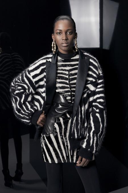 Kai Newman, Black Fashion Models, Jamaican Fashion Models, Balmain Pre-Fall 2014