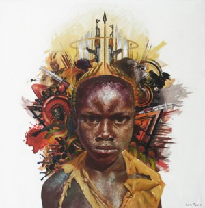 Art.  Surreal Portraiture by Loyiso Mkize.