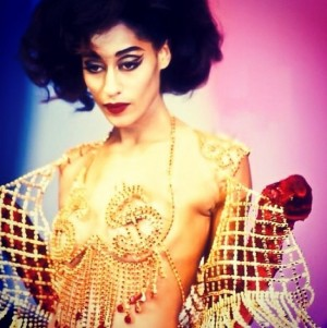 Throwback Thursday.  Tracee Ellis Ross Modeling For Thierry Mugler and 19 Years Old.