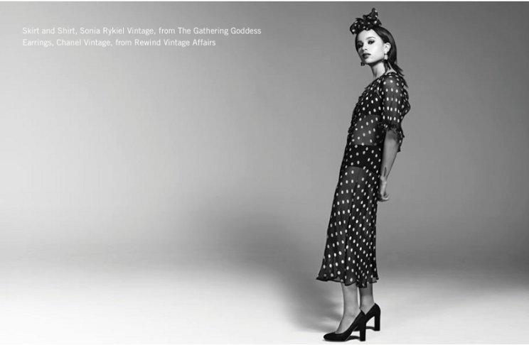 Zoe Kravitz, Farfetch, Vintage Clothing