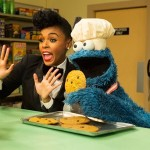 Watch This.  Janelle Monáe Hangs Out with Elmo and the Cookie Monster.