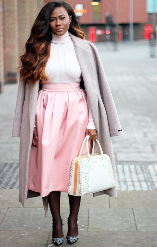 Pastels, Black Fashion Bloggers