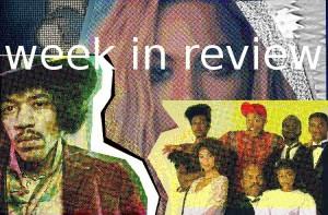 Week in Review.  Thandie Newton.  Beyonce.  Robin Roberts.  Cindy Bruna. Prada.