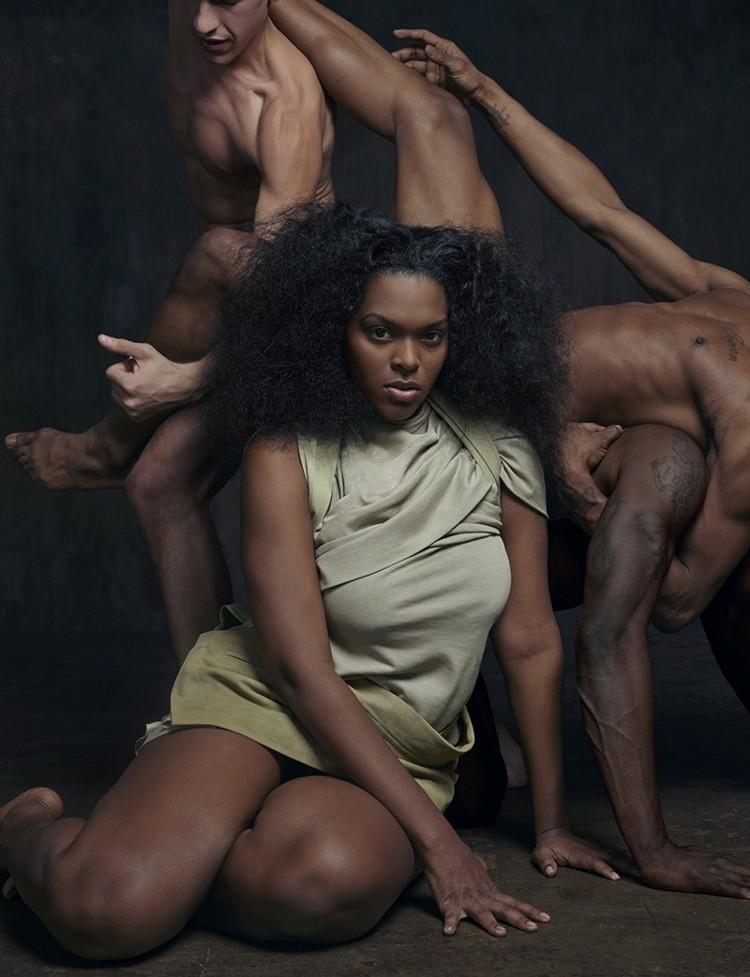 Katie Shillingford, Matthew Stone, Another Magazine, Rick Owens Spring 2014, Body Diversity