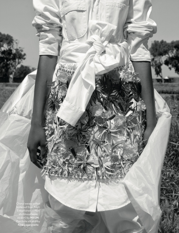 Black Fashion Models, Another Magazine, Jackie Nickerson