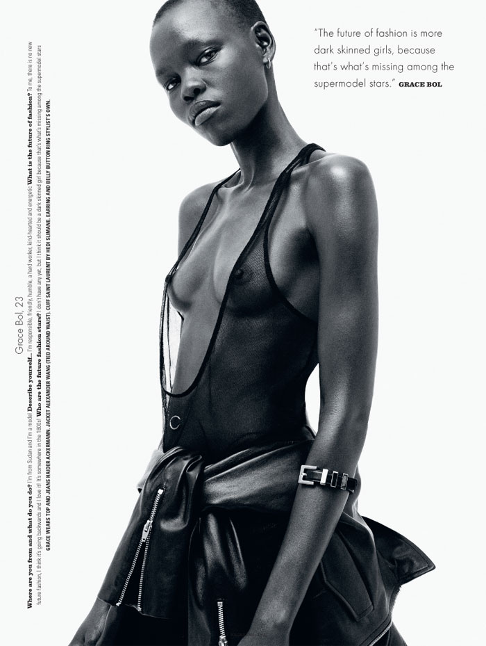 Grace Bol, Black Fashion Models