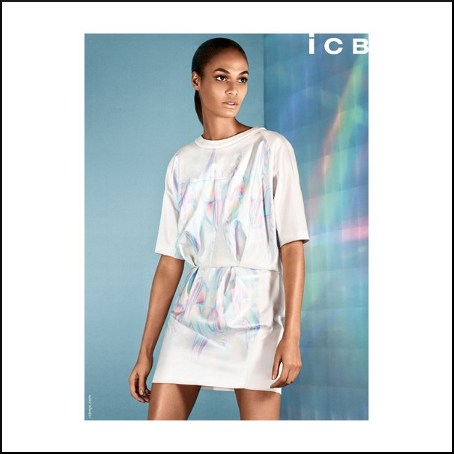 Ads. Joan Smalls For ICB Spring/Summer 2014 Campaign.