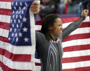 Black Girls Bobsled Too.  All About Lauryn Williams.