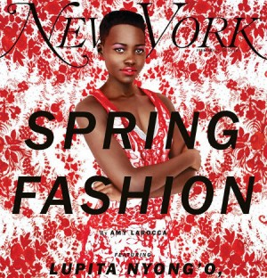 Editorials.  Lupita Nyong'o in New York Magazine's Spring 2014 Fashion Issue.