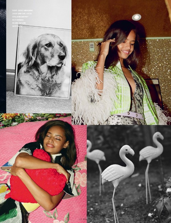 Malaika Firth, Black Fashion Models, i-D Magazine